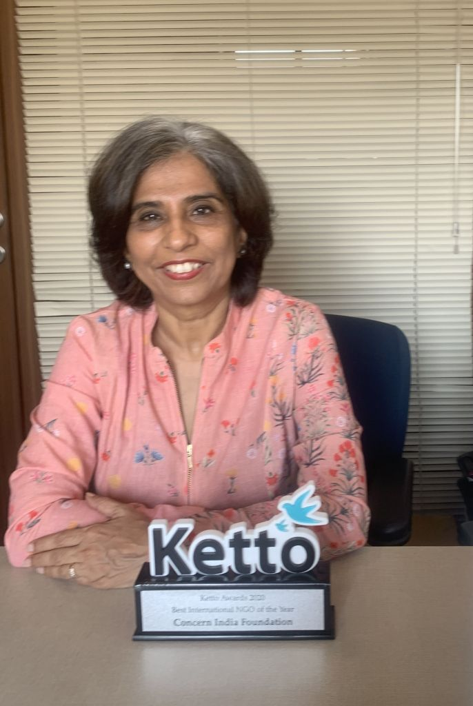 Ketto Awards 2020 - Concern India Foundation
